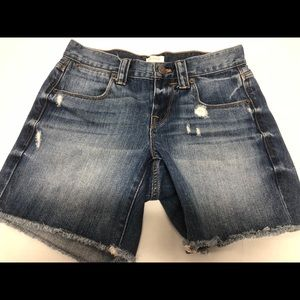 J crew size 24 Distressed shorts